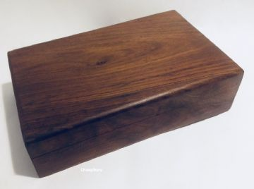 "RUSTIC  7x5"" PLAIN Jewellery Trinket Memory Keepsake Box"